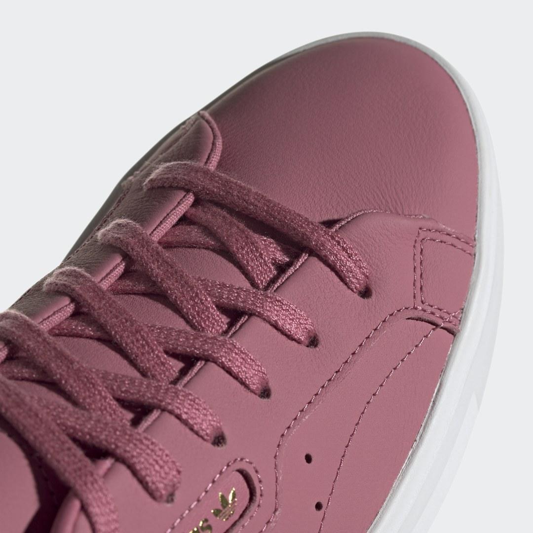 Zapatilla Sleek adidas de color Morado
