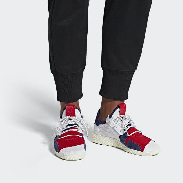 9a235d081 Adidas - White Pharrell Williams Bbc Hu V2 Shoes for Men - Lyst. View  fullscreen