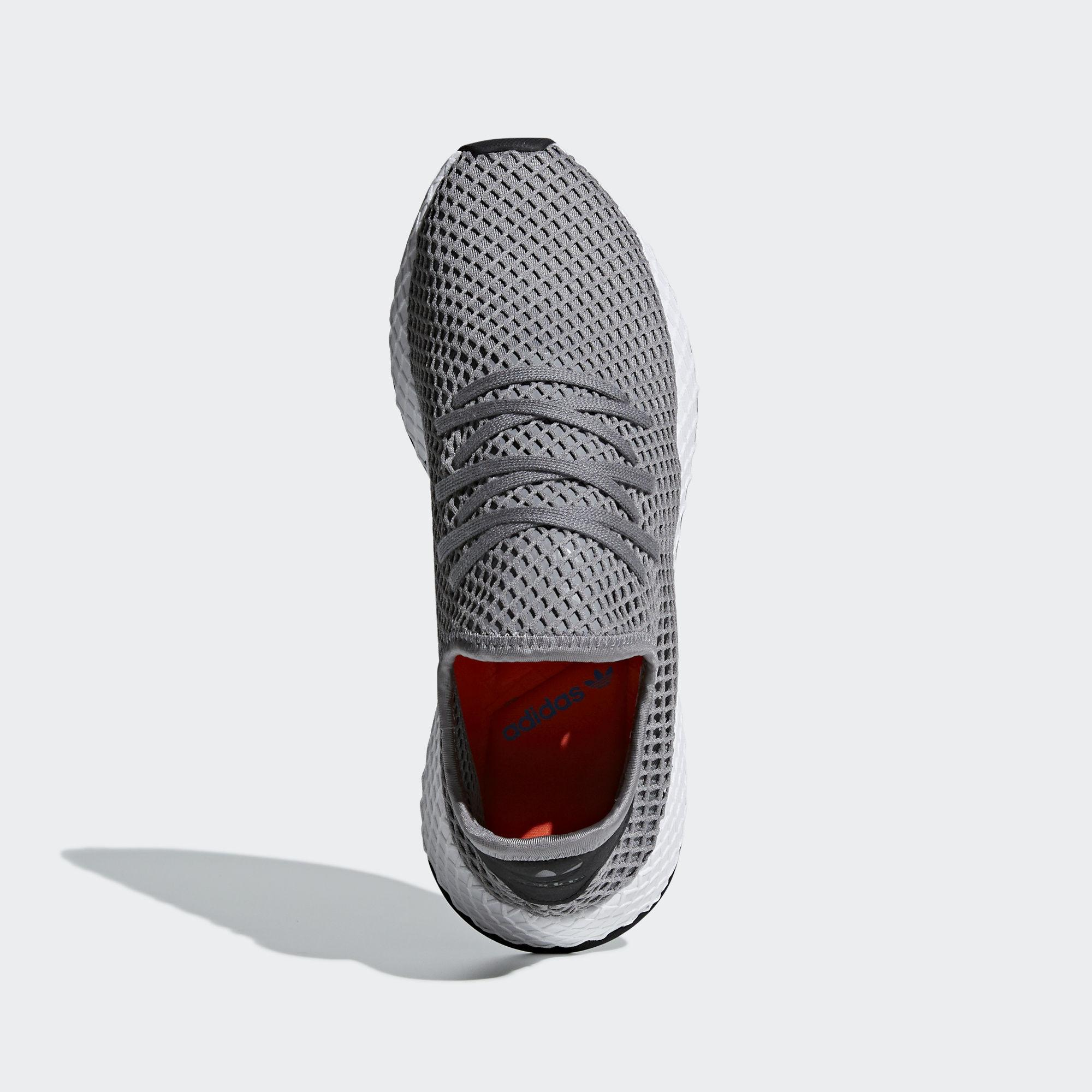 Zapatilla Deerupt Runner adidas de Encaje de color Gris
