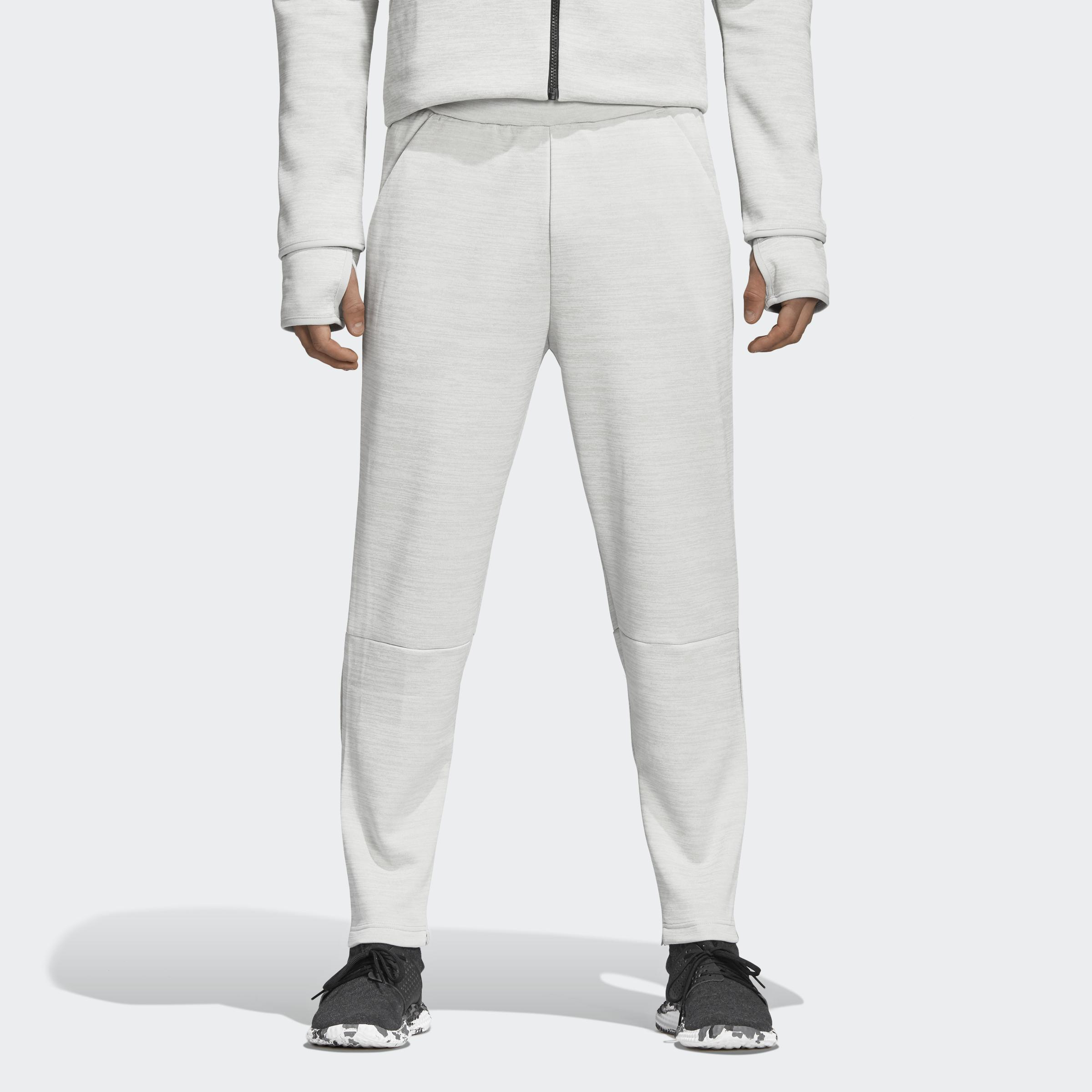 pretty cool get online wholesale adidas Z.n.e. Tapered Tracksuit Bottoms in Ash Silver (Gray) for ...
