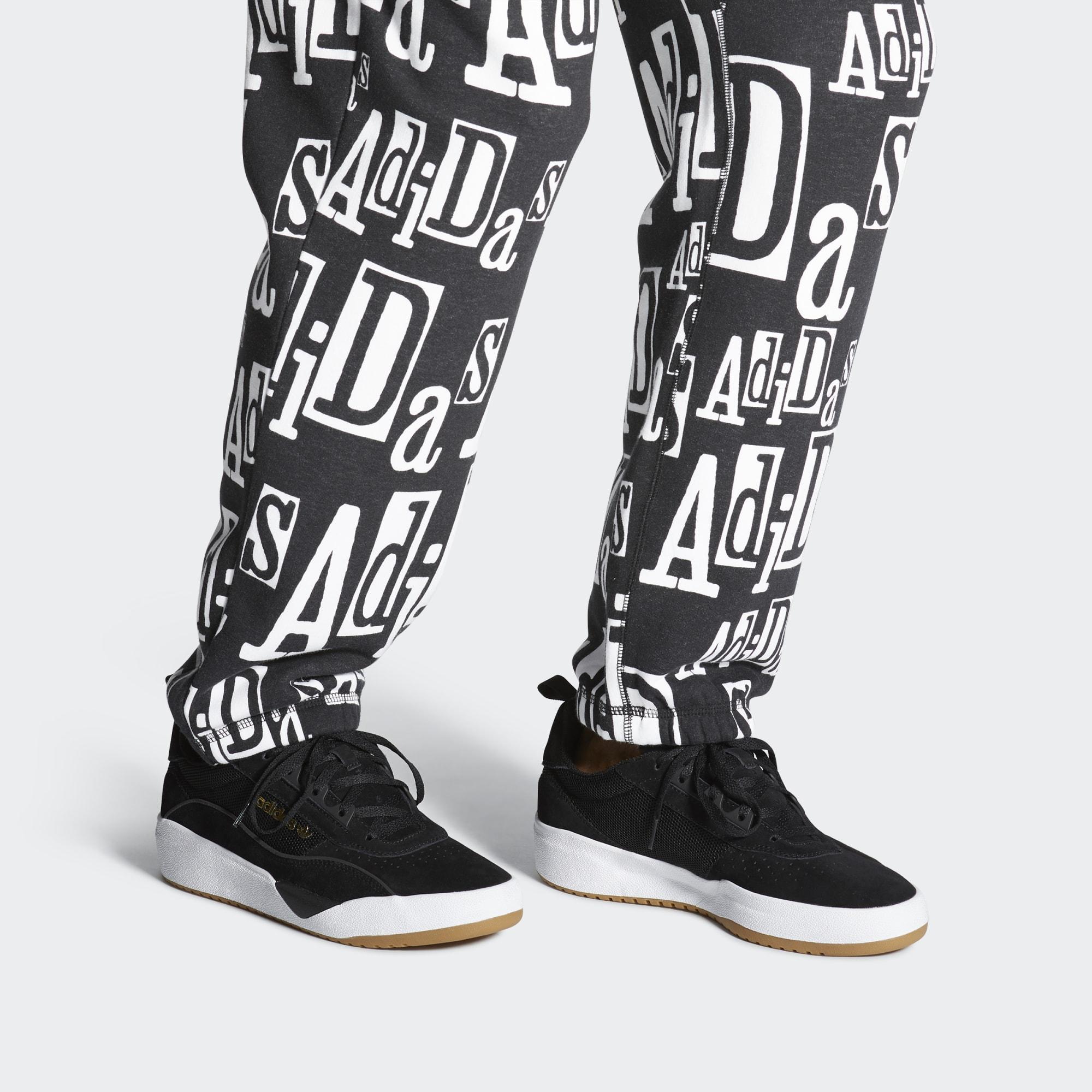 Zapatilla Liberty Cup adidas de Ante de color Negro para hombre