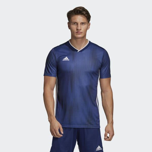 adidas Synthetic Tiro 19 Jersey in Blue for Men - Lyst