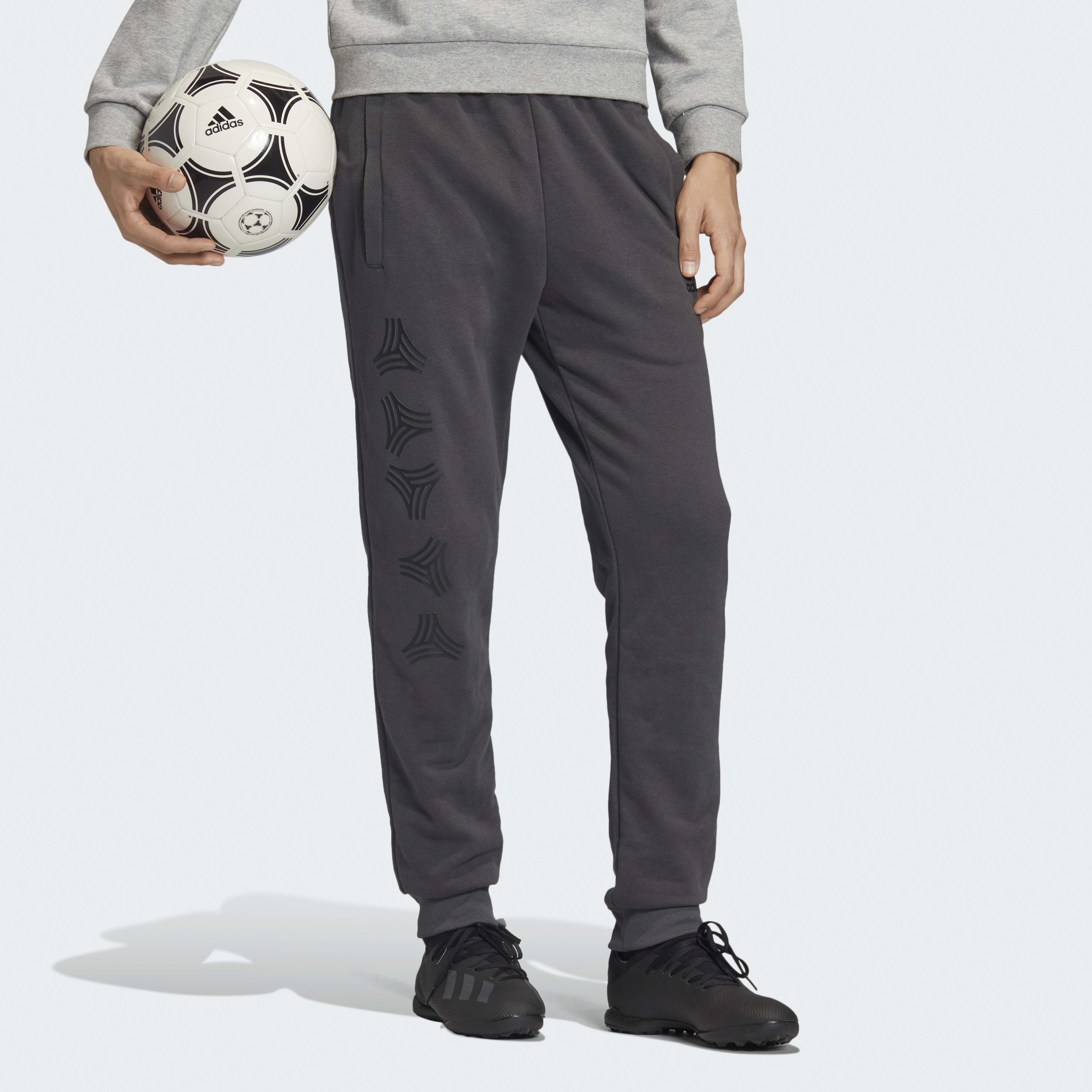 Pantalon sportswear TAN Logo Synthétique adidas pour homme en coloris Gris