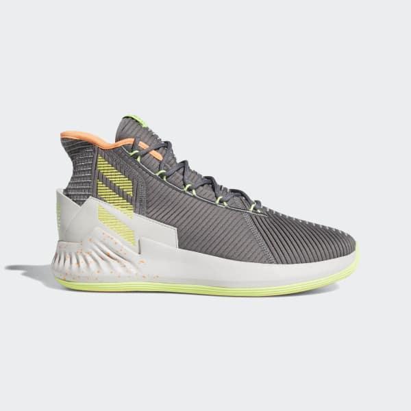 wholesale dealer 53fa2 2cb1b adidas. Men s Gray D Rose 9 Shoes