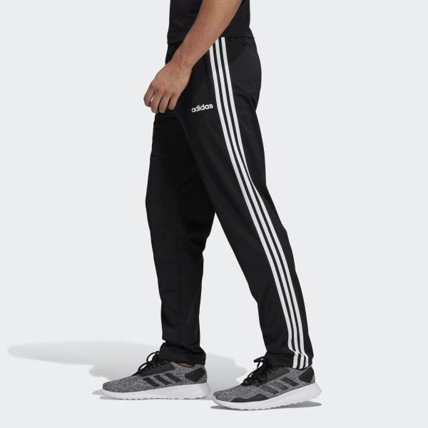 b5732b6aa45e9 Adidas - Black Essentials 3-stripes Tapered Pants for Men - Lyst. View  fullscreen