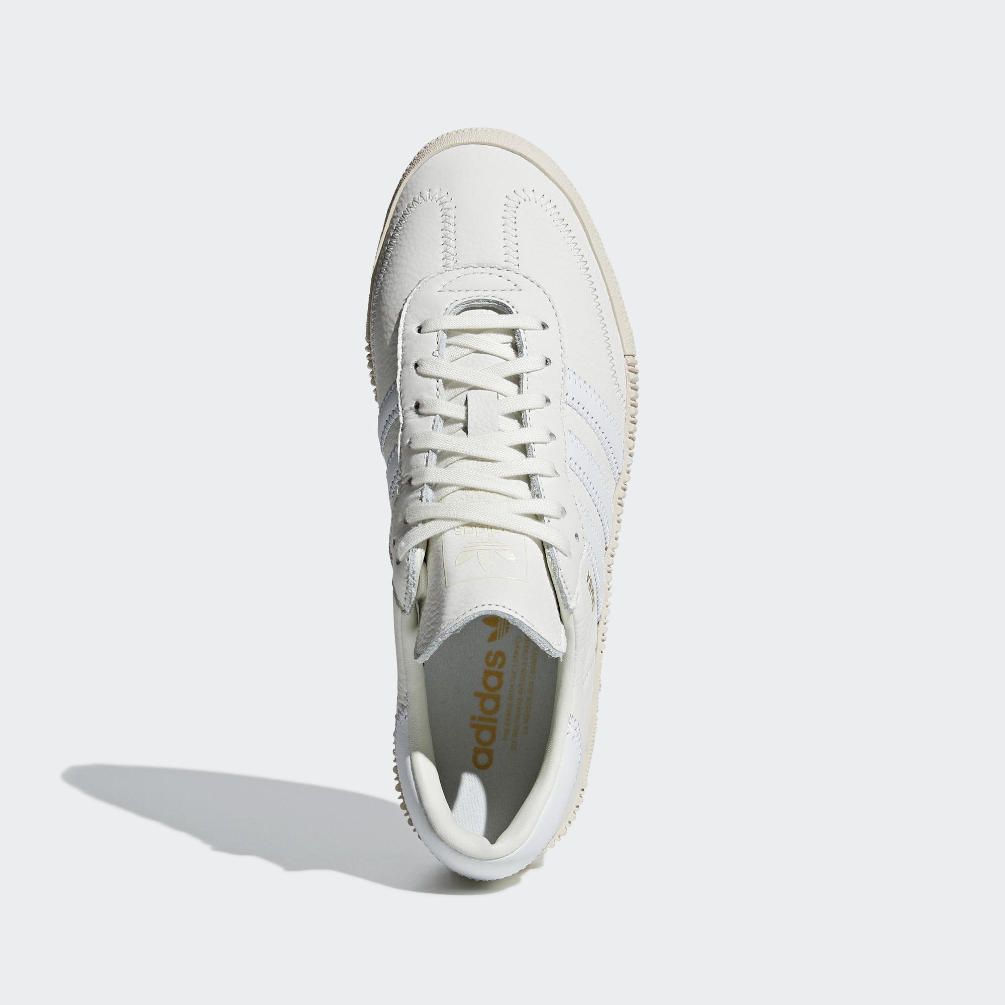 on sale b427f 319a4 adidas Sambarose Shoes in White - Lyst