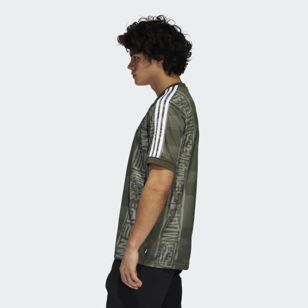 adidas Synthetic Dakari Jersey in Green for Men - Lyst