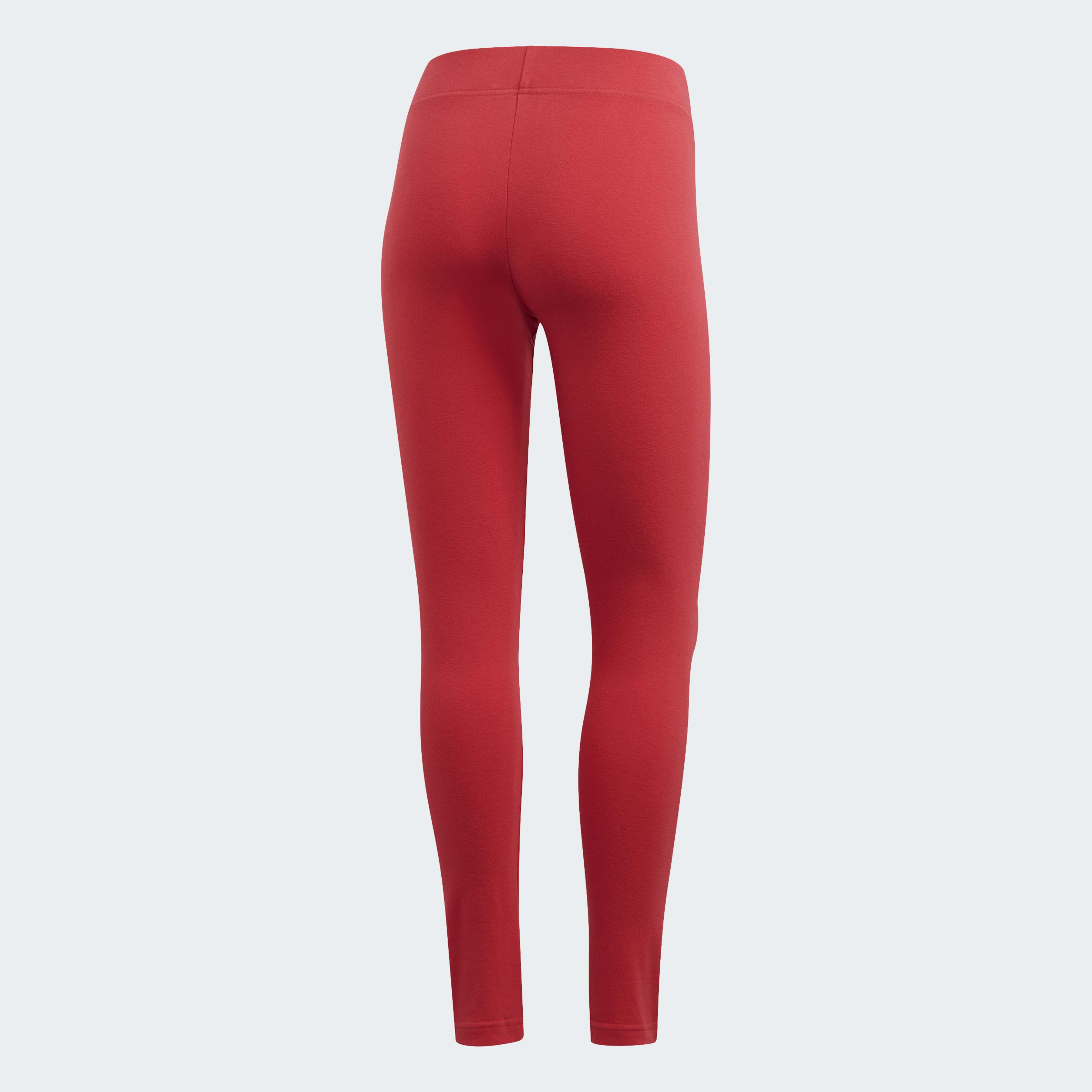 Tight Essentials Linear Coton adidas en coloris Rouge