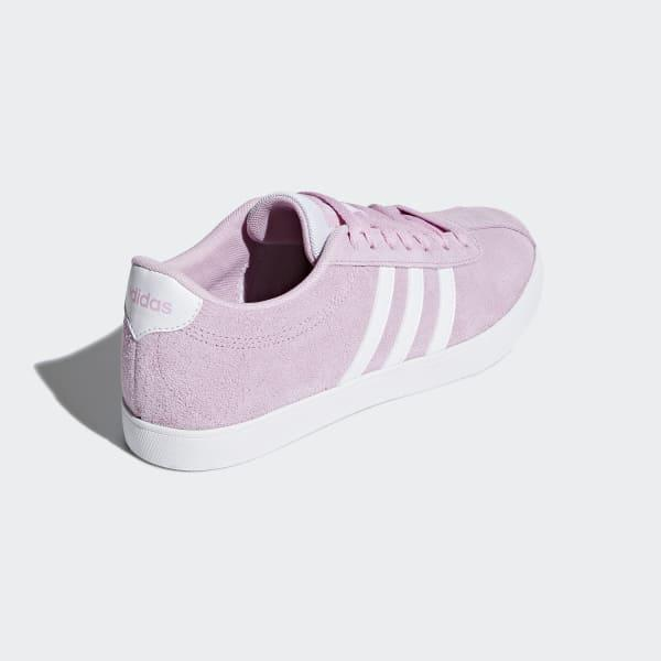 adidas Suede Courtset Shoes in Pink - Lyst