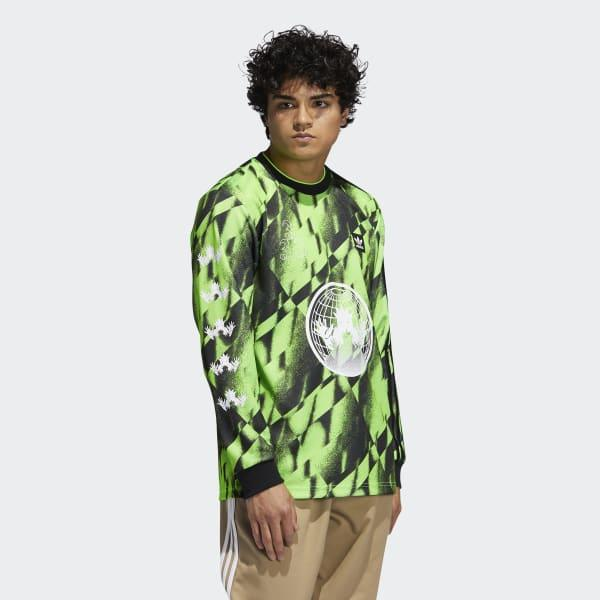 adidas Synthetic Allover Club Jersey in Green for Men - Lyst
