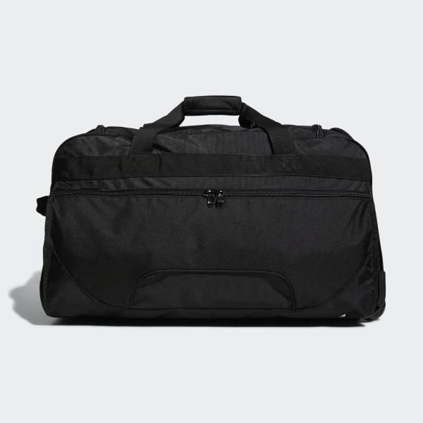 7c83def1d3 Adidas - Black Wheeled Team Bag for Men - Lyst. View fullscreen