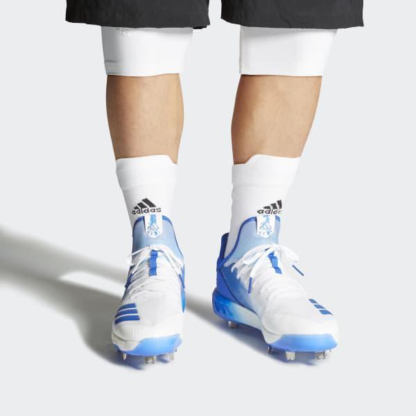 f444f0629cf Adidas - White Boost Icon 4 Splash Cleats for Men - Lyst. View fullscreen