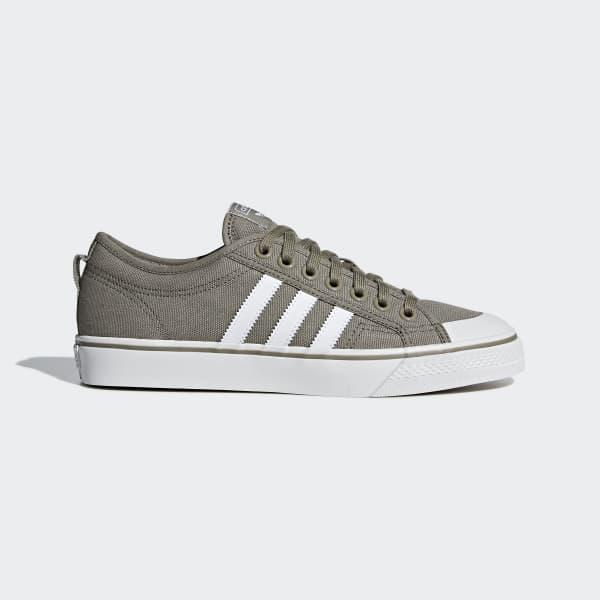 adidas Canvas Nizza Shoes in Grey (Gray) for Men - Lyst
