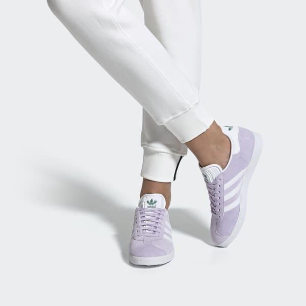 adidas gazelle femme mauve