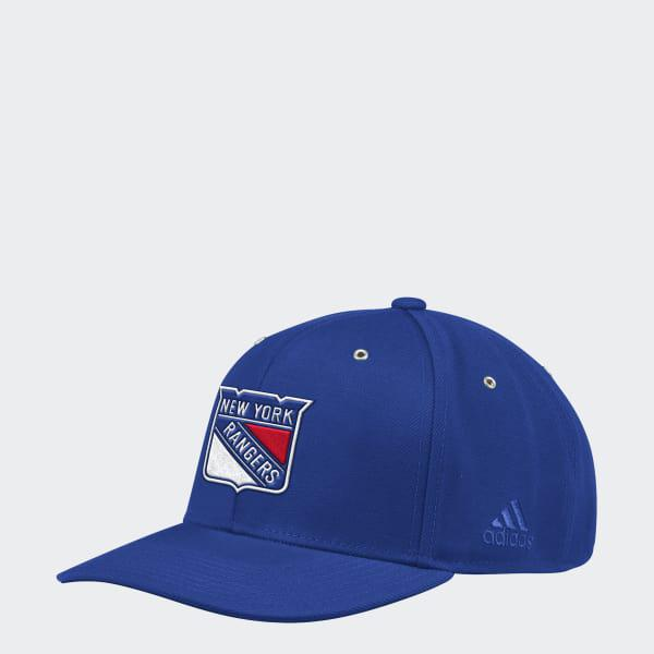 Lyst - Adidas Rangers Adjustable Leather Strap Hat in Blue for Men 412d4369c473