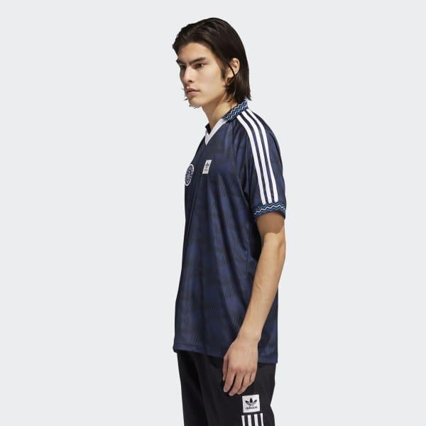 adidas Synthetic Bootleague Recycled-polyester Top in Black for ...