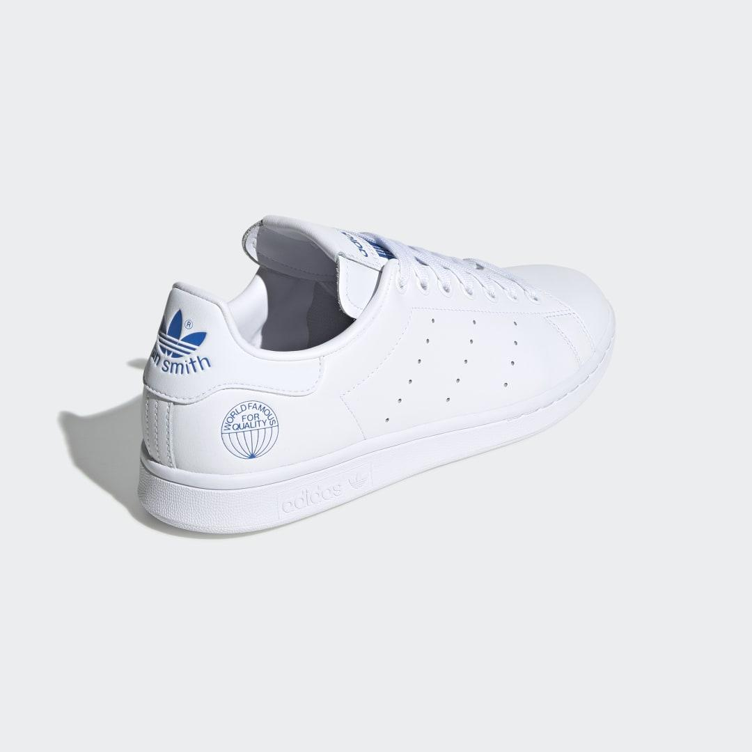 Zapatilla Stan Smith adidas de Cuero de color Blanco