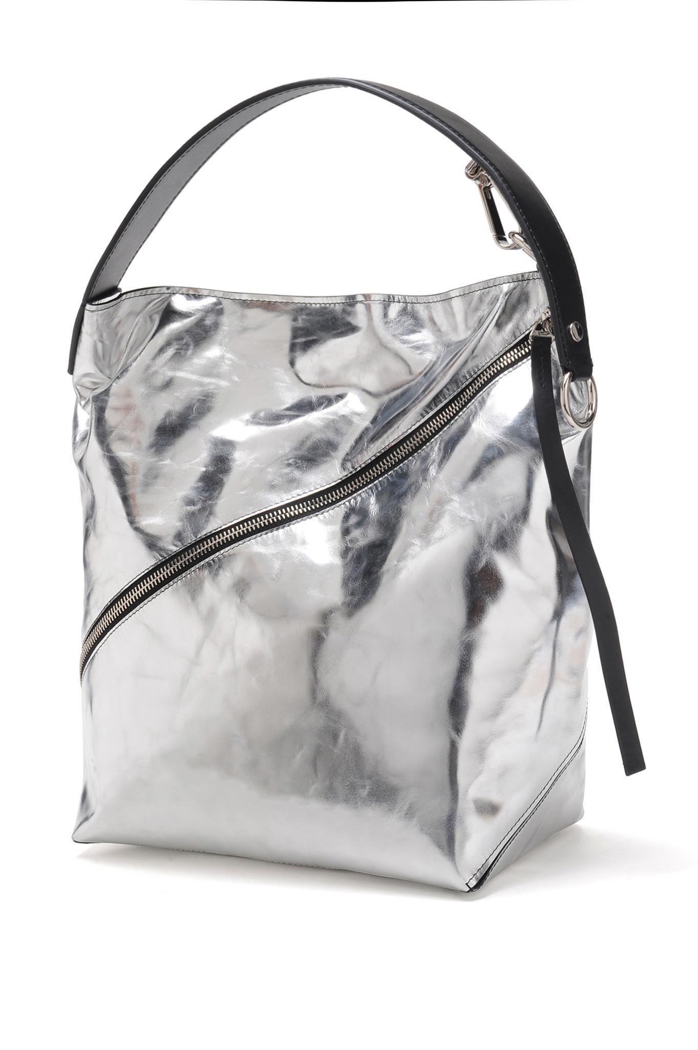 Proenza Schouler - Medium Soft Metallic Hobo Bag - Lyst. View fullscreen 4d7cb3cfd3567