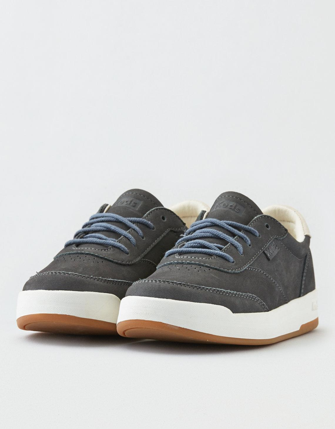 c263b8a2532 Lyst - American Eagle Keds Match Point Nubuck Sneaker in Gray