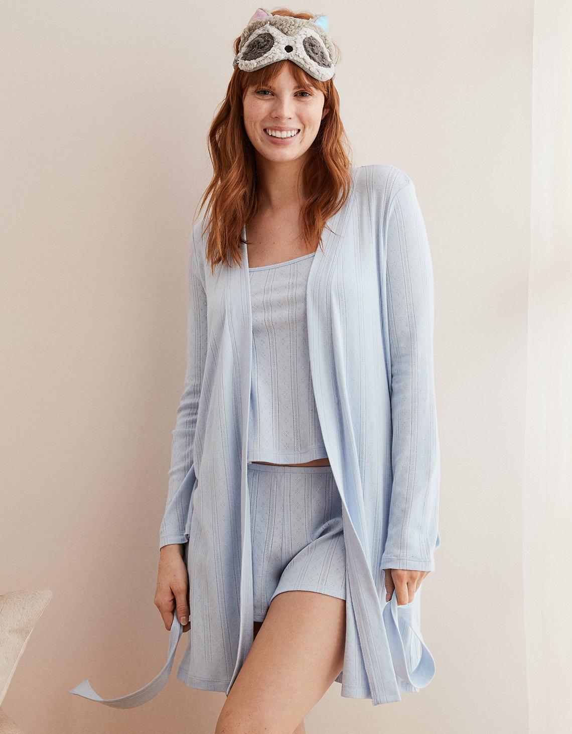 a99f93bb1f4 Dreams Co Hooded Fleece Sweatshirt Robe