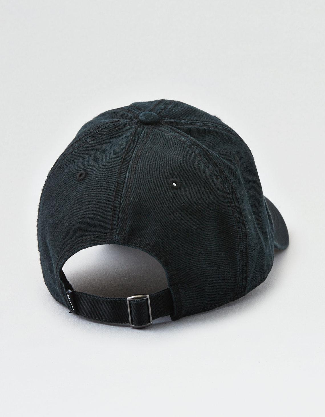 Lyst - American Eagle Ae Blank Dad Hat in Black for Men 7c0de12a794b