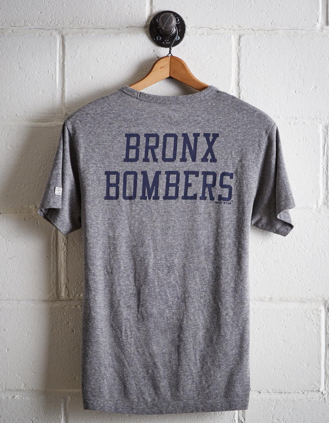 Lyst - Tailgate Men s New York Bronx Bombers T-shirt in Gray for Men 0fe345abc97