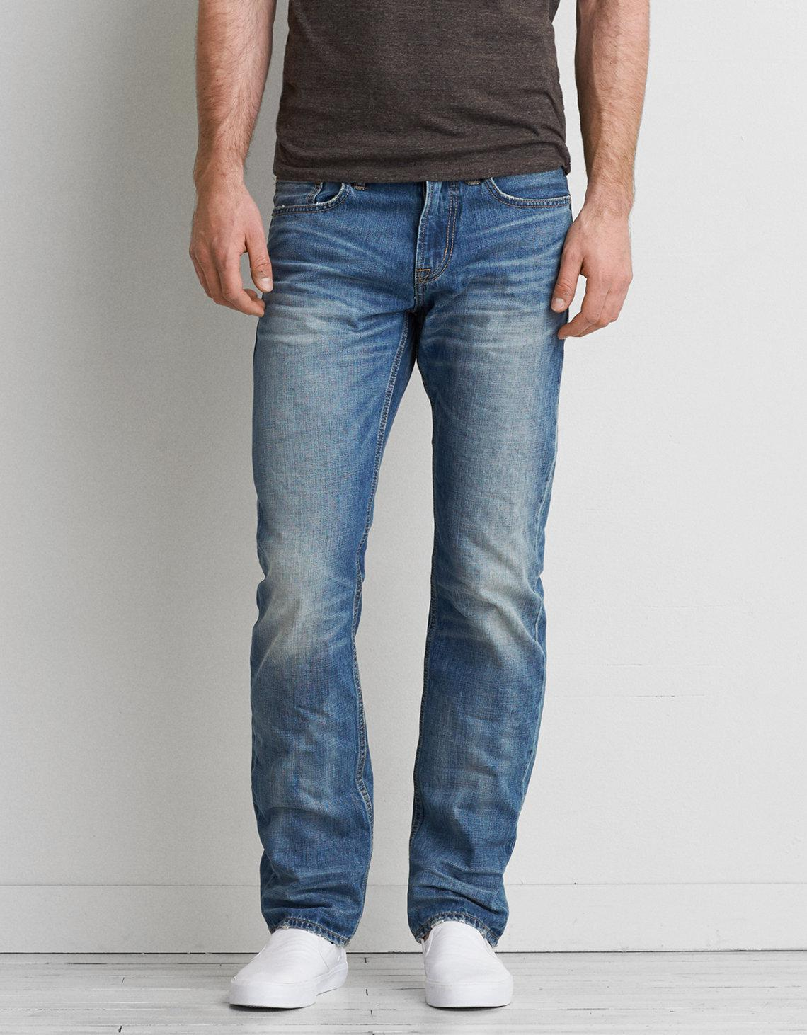 مضحك جدا قمة العنب American Eagle Slim Straight Jeans Musichallnewport Com