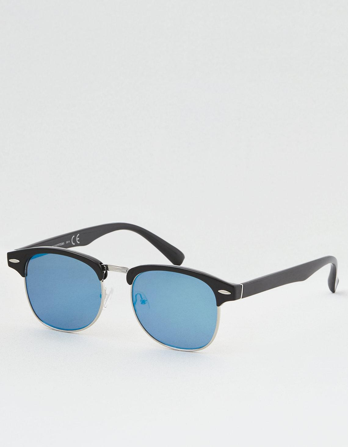 21ebbfe74e1 Lyst - American Eagle Ae Club Sunglasses in Blue for Men - Save 53%