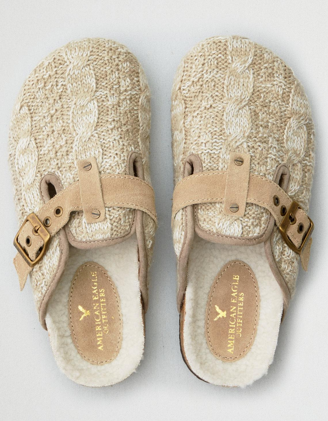 American Eagle Rubber Cable Knit Clog