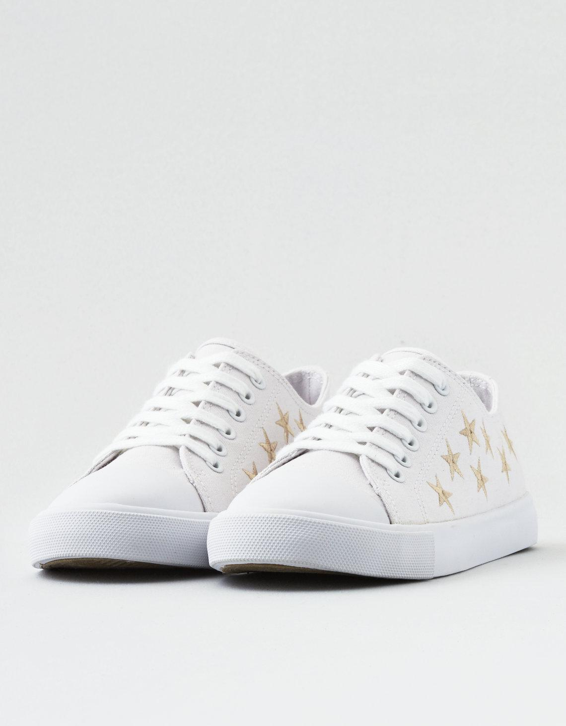 cheap sale outlet locations 2014 new cheap online AEO Embroidered Stars Low Top Sneaker discount authentic online pick a best cheap online fashionable cheap online 71ia4YeTD