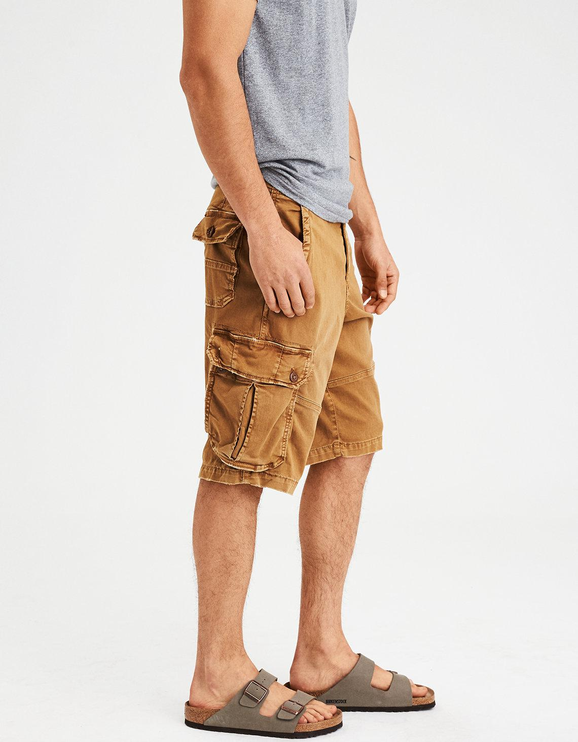 7af34d37ee American Eagle Ae Extreme Flex Classic Cargo Short in Natural for ...