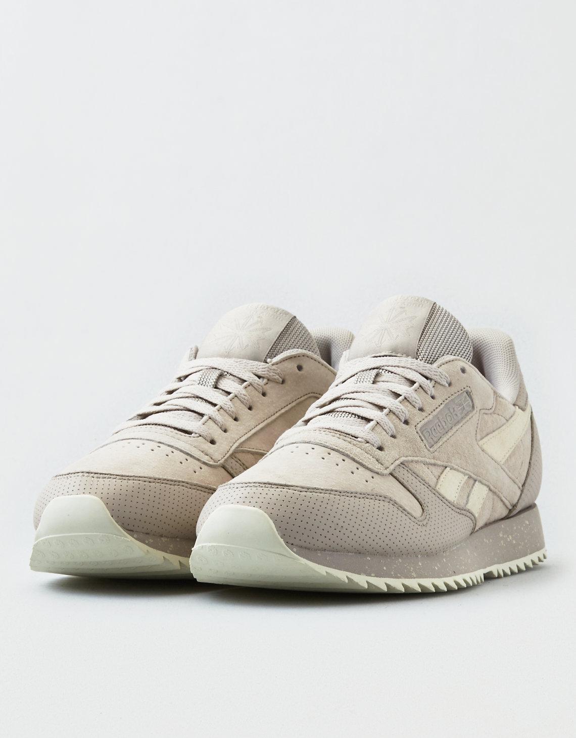 colchón Confuso Permiso  American Eagle Reebok Classic Leather Ripple Sm Sneaker in Gray ...