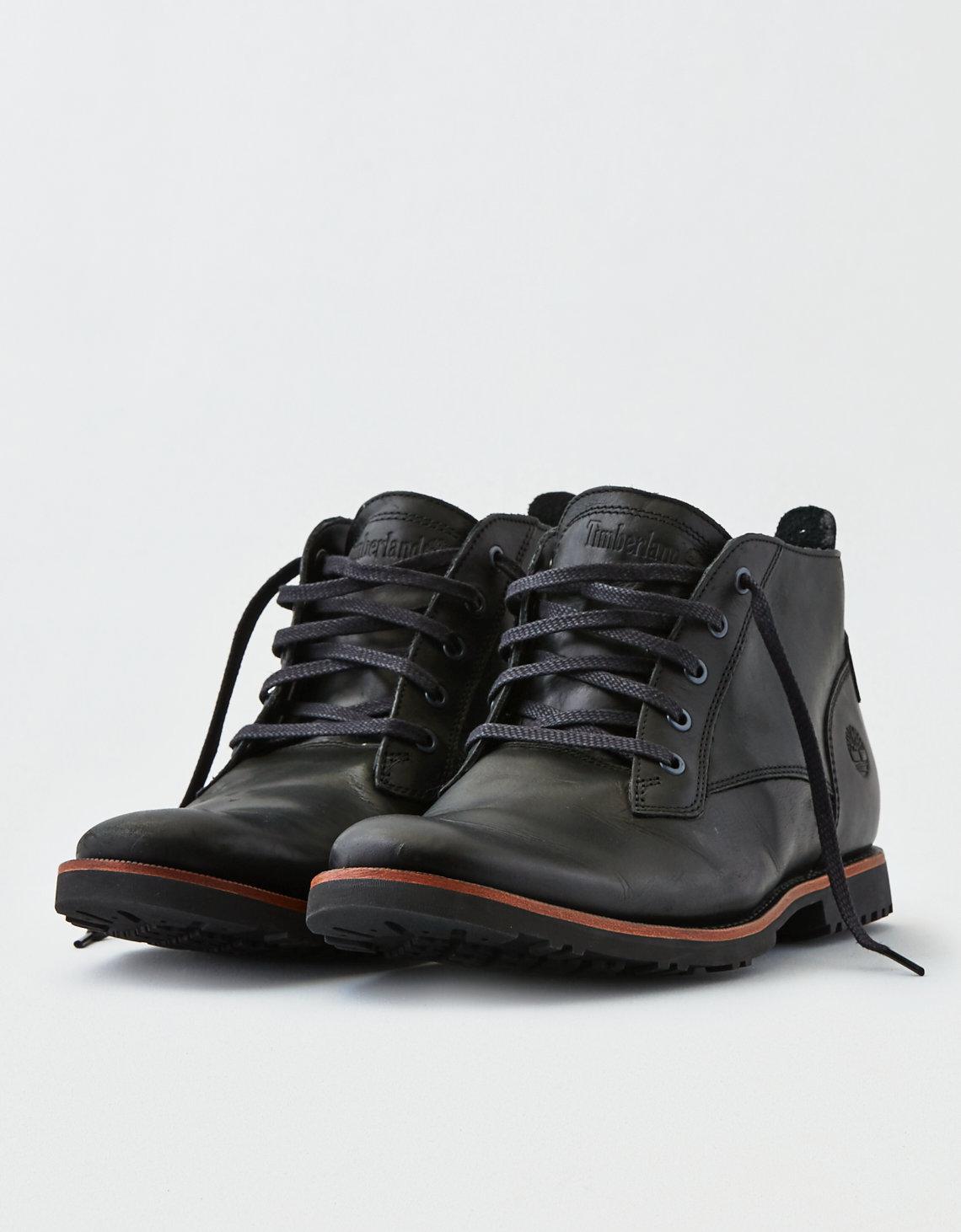 6a3cf67b460 American Eagle Black Timberland Kendrick Chukka Boot for men