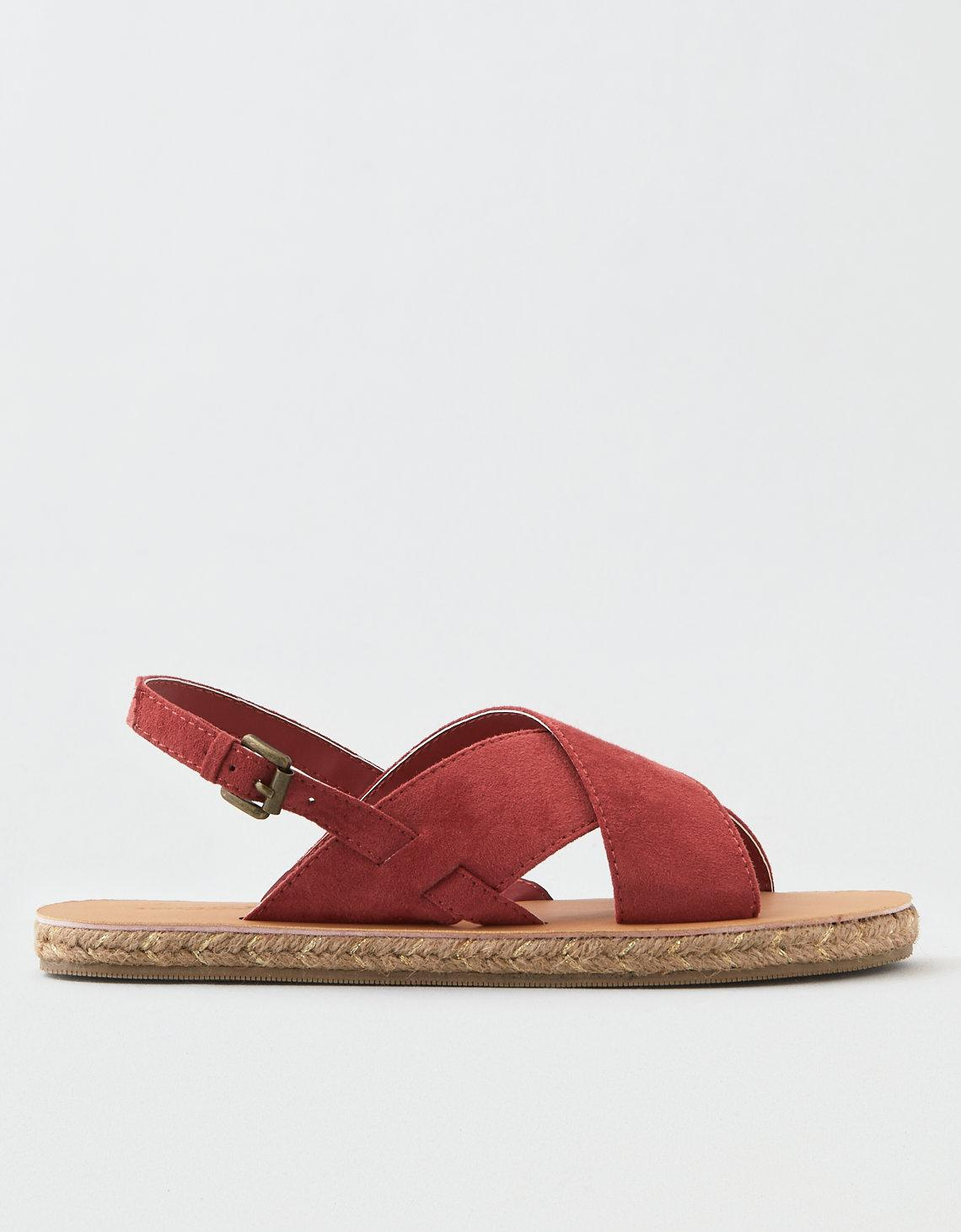 13647550d2f Lyst - American Eagle Ae X-band Sandal in Red