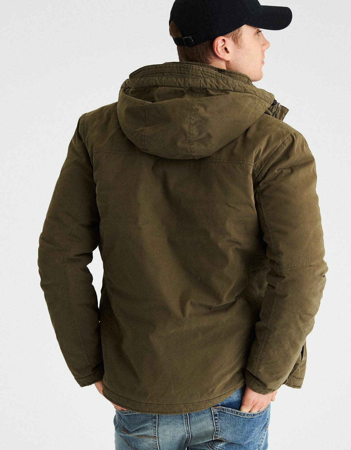 Ae Military Shirt Jacket