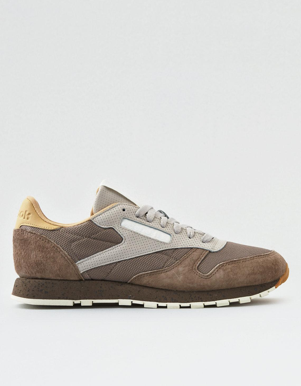 097b5d74357 Lyst - American Eagle Reebok Classic Leather Sm in Gray for Men