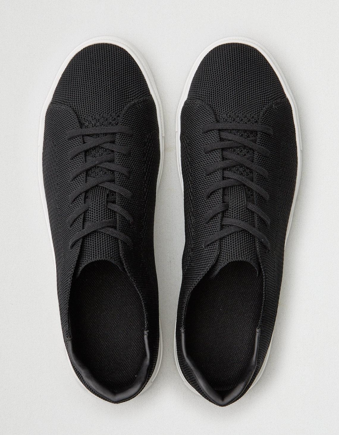 Lyst - American Eagle X-ray Knit Club Sneaker in Black for Men cfe66b631fb