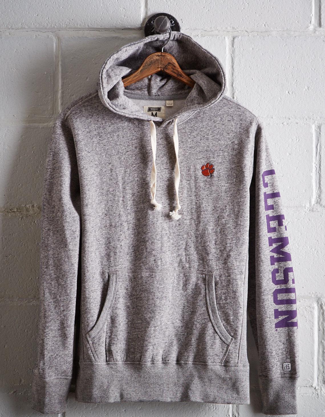 b27c04cfe53 Lyst - Tailgate Men s Clemson Fleece Hoodie in Gray for Men