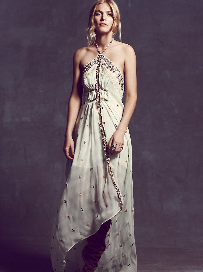 Free People Womens Limited Edition Gianna S Dress In Ice