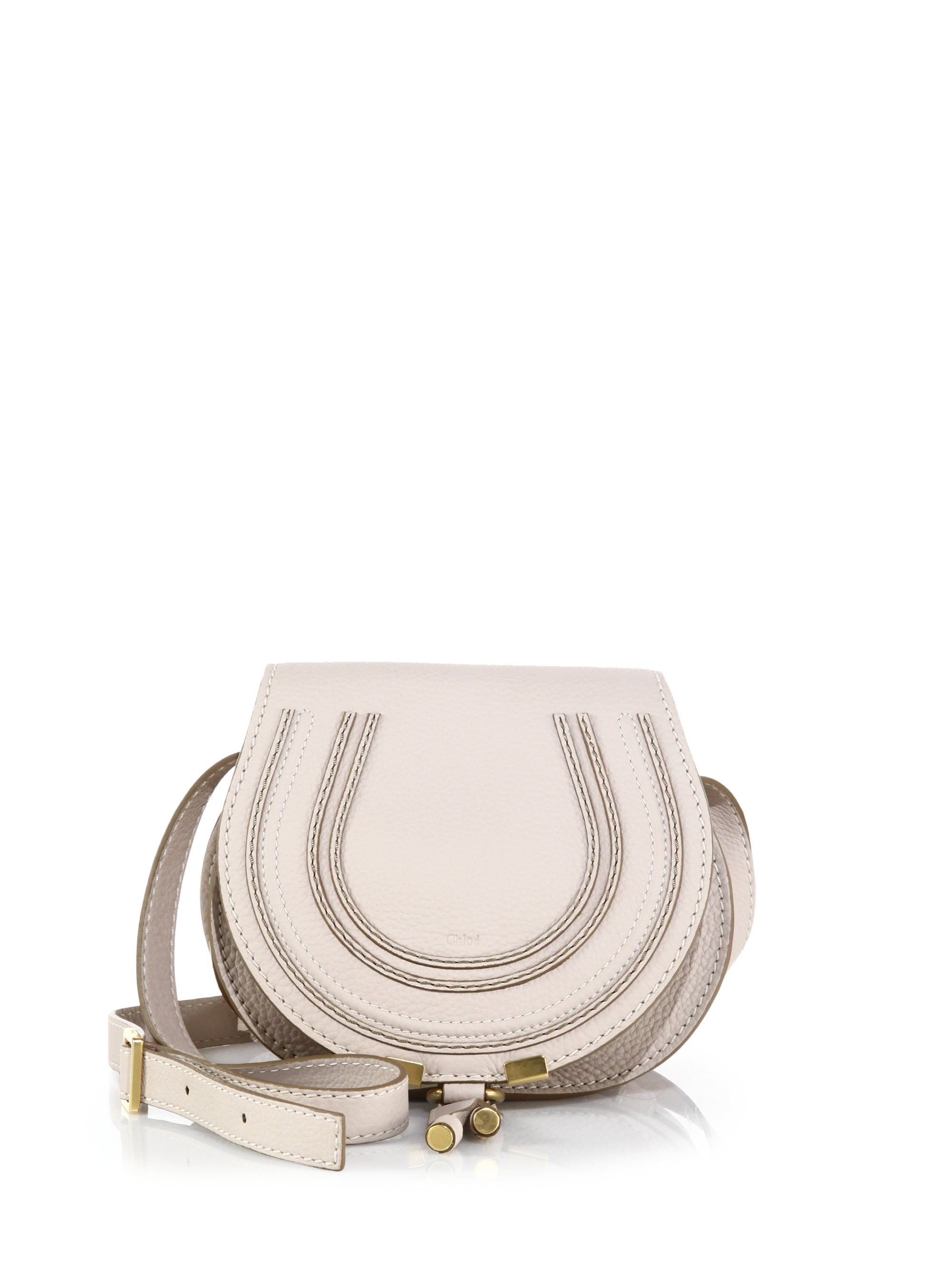 see by chloe purses - Chlo�� Marcie Small Crossbody Bag in White (abstract white) | Lyst