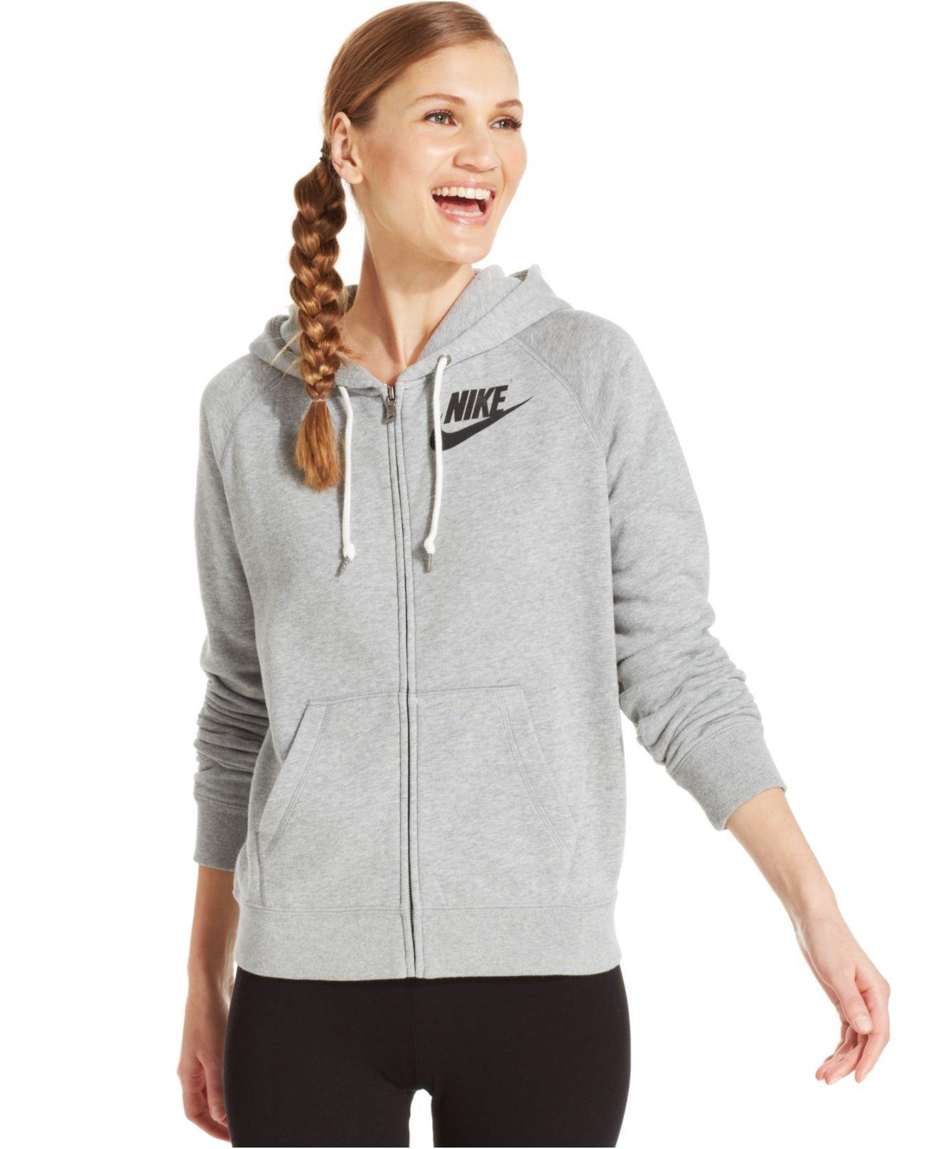 grey nike zip up hoodie the image kid. Black Bedroom Furniture Sets. Home Design Ideas
