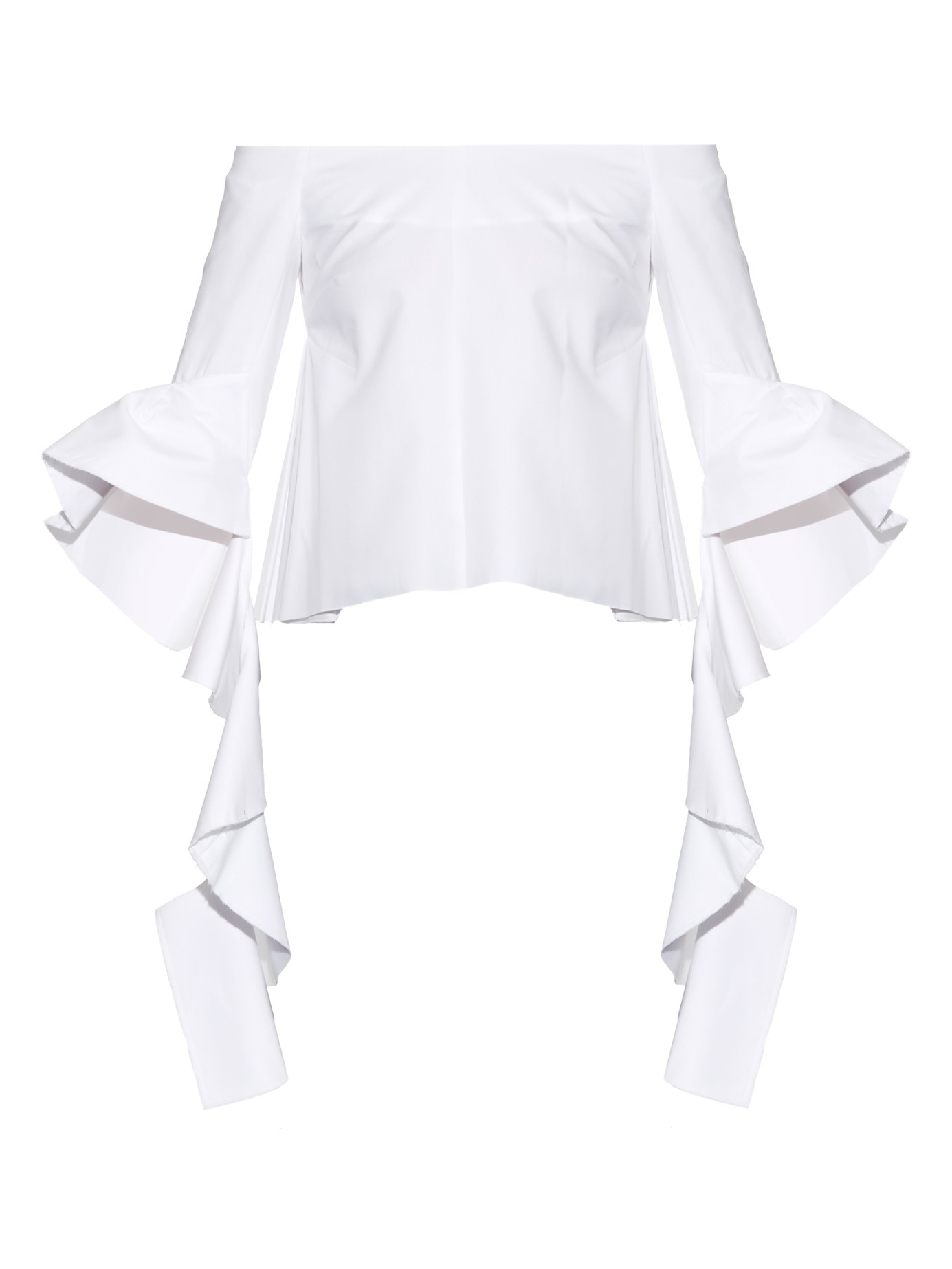 Blouse With Bell Sleeves