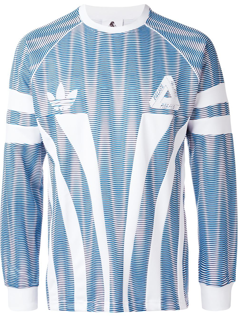 Palace x adidas Originals Crew Neck | Blue | Crewnecks