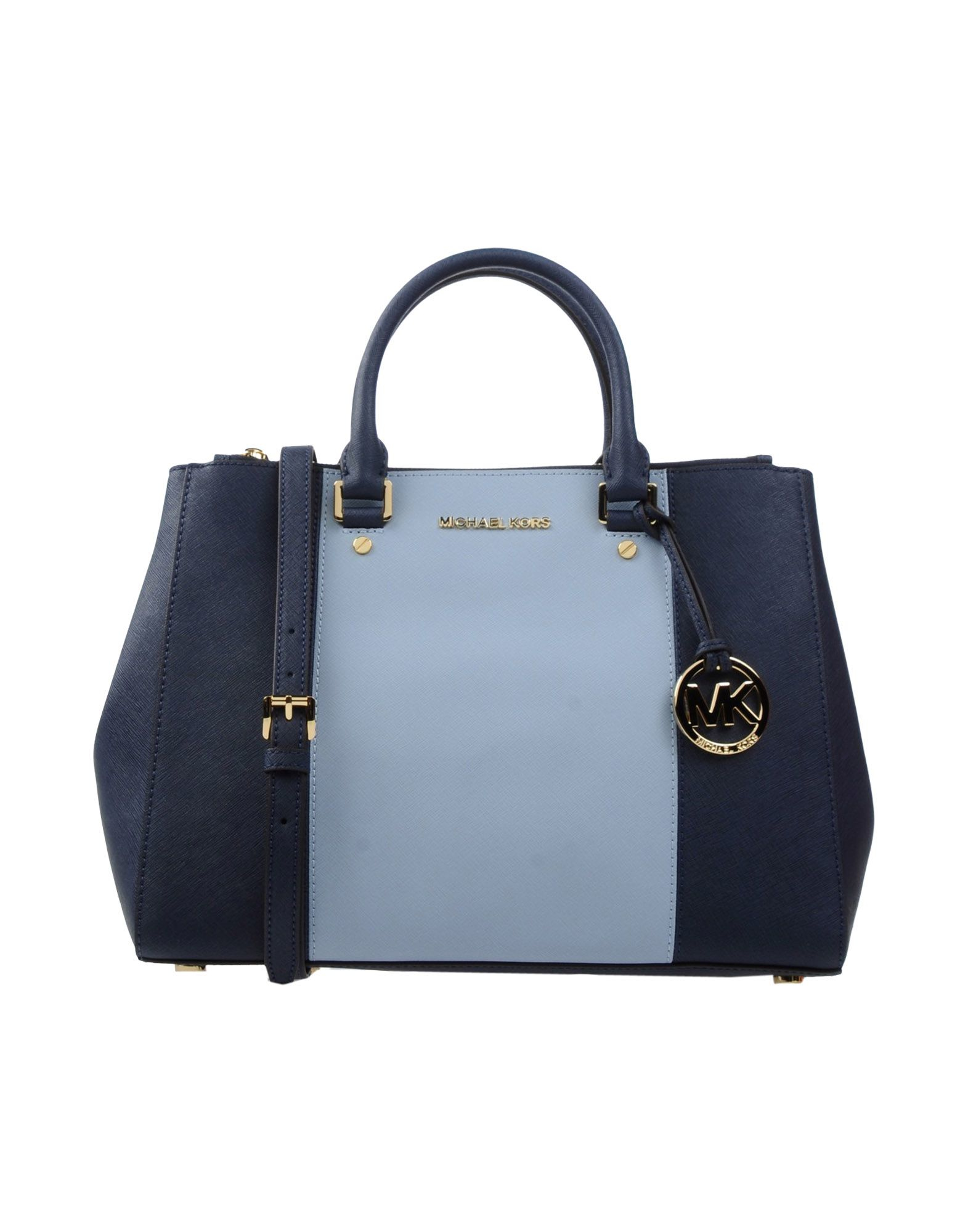4c26e3bf169a Lyst - MICHAEL Michael Kors Handbag in Blue