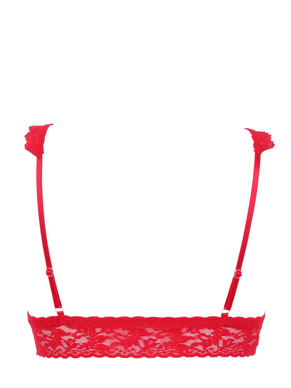 Hanky panky Retro Lace Bralette in Red | Lyst