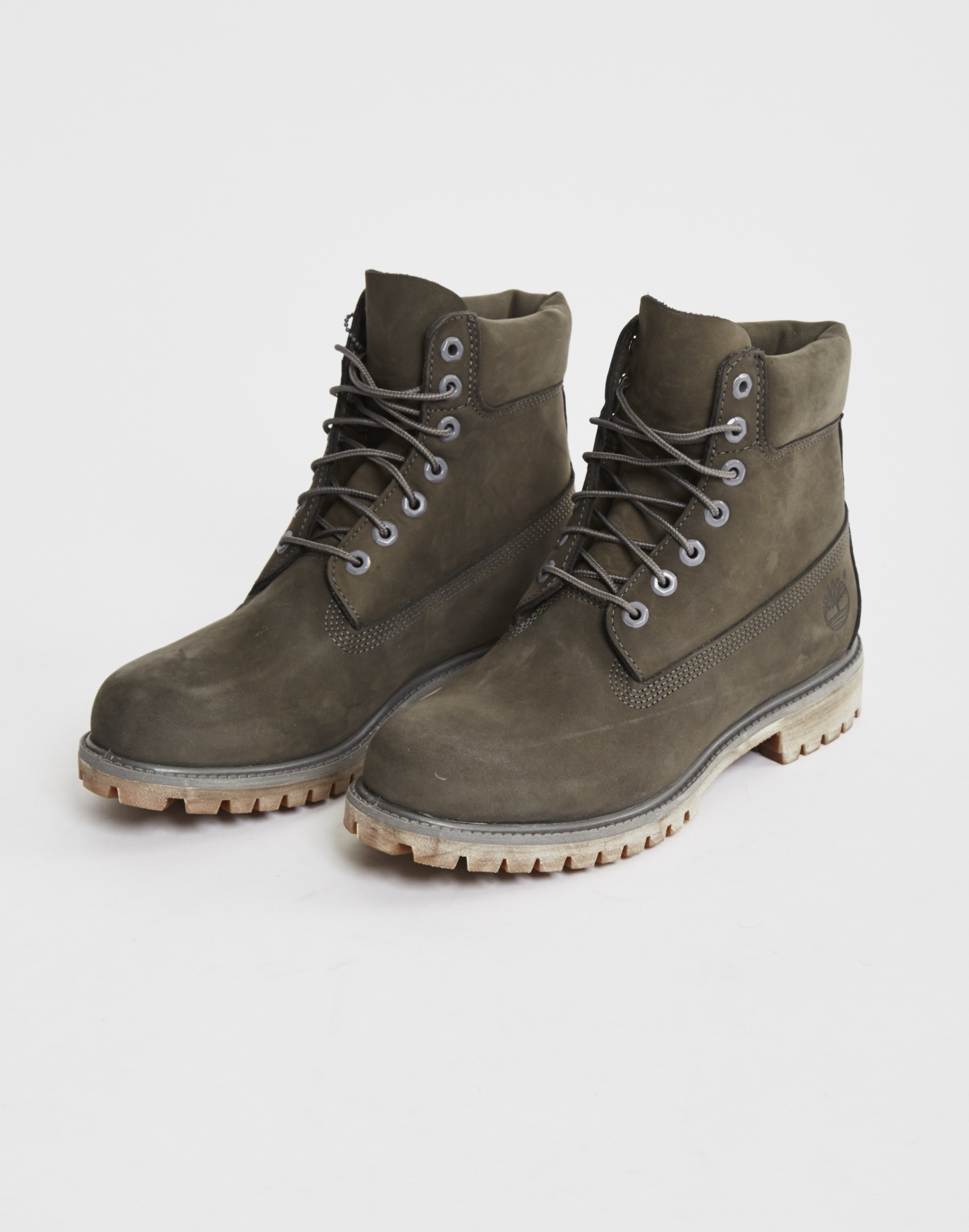 timberland icon 6 premium boot grey in gray for men lyst. Black Bedroom Furniture Sets. Home Design Ideas