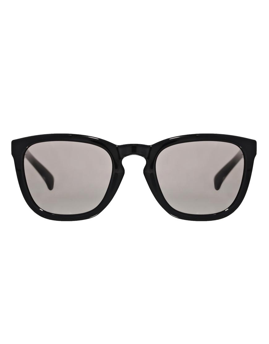 Ck Jeans Sunglasses  calvin klein jeans d frame sunglasses in black lyst