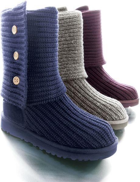 df020edd9b9 Uggs Cardy Crochet Boots