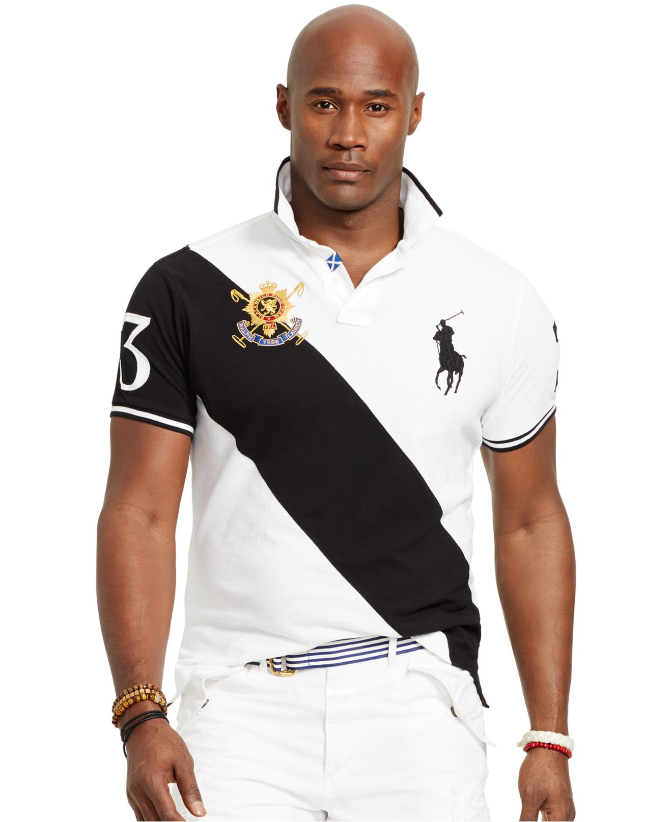 "Polo Ralph Lauren Men/'s BLACKWATCH Polo Shirt Big and Tall Big Pony Crest /""3/"""