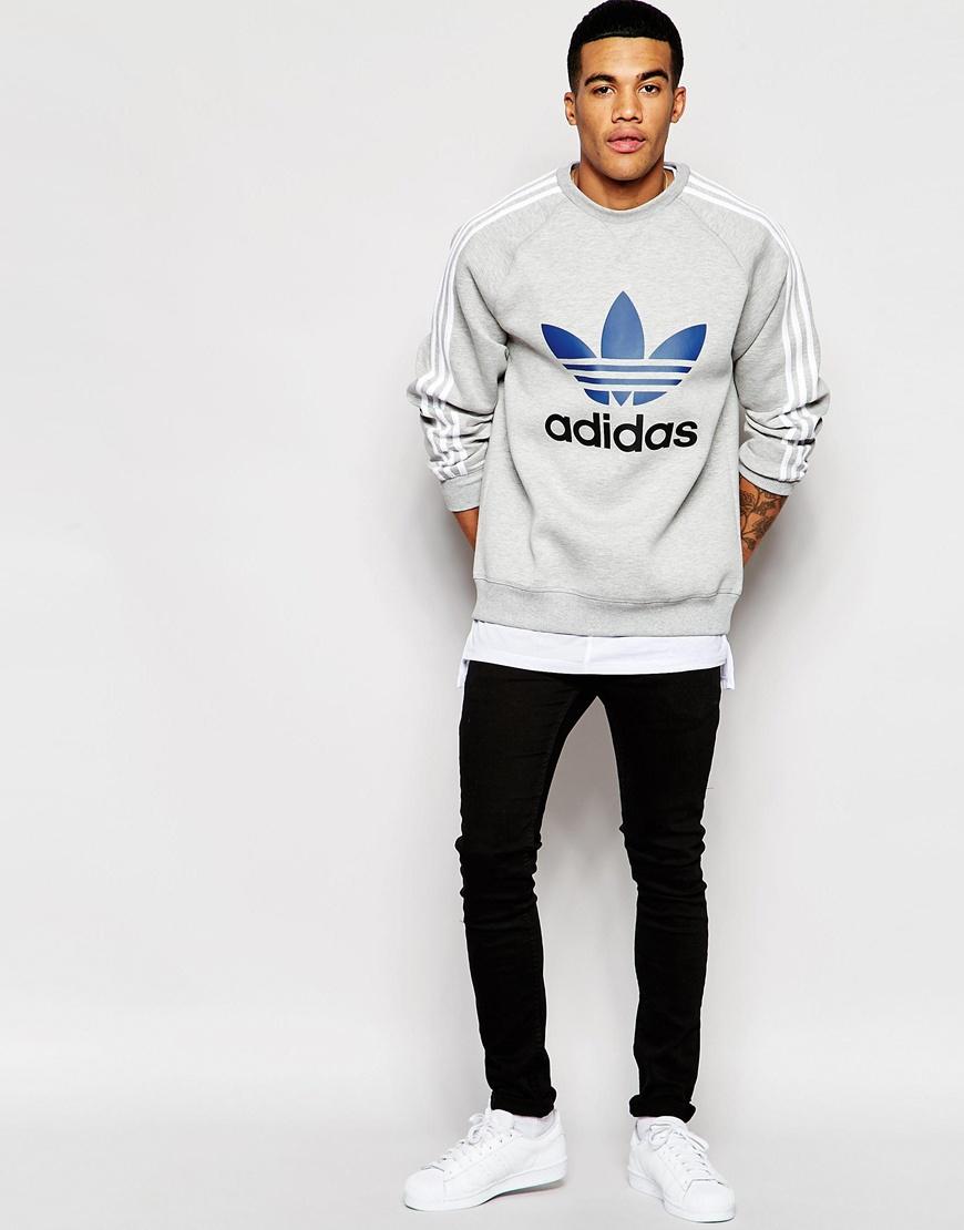 adidas originals trefoil hoodie men